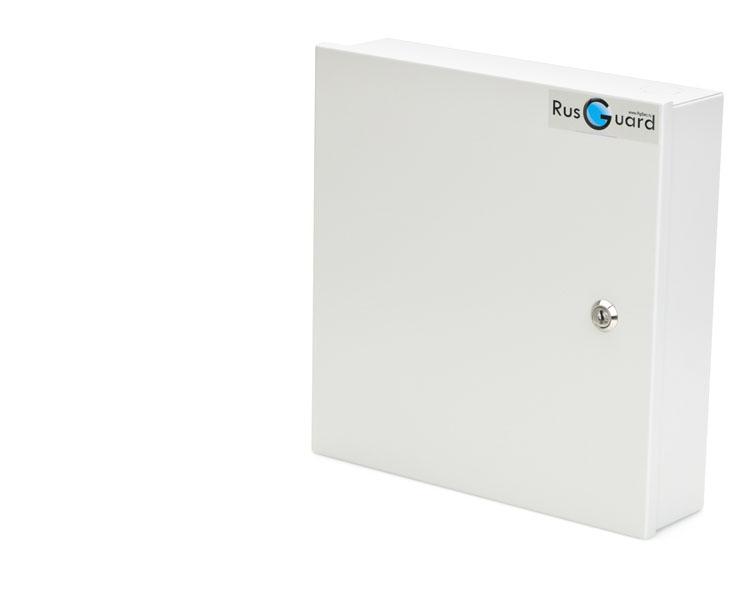 Контроллер СКУД ACS-102-CE-BMВ металлическом корпусе с замком с блоком питания 2.5A и местом под установку АКБ 7 А*ч Программное обеспечение БЕСПЛАТНОЕ!